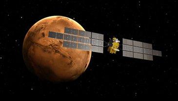Artist View Earth Return Orbiter