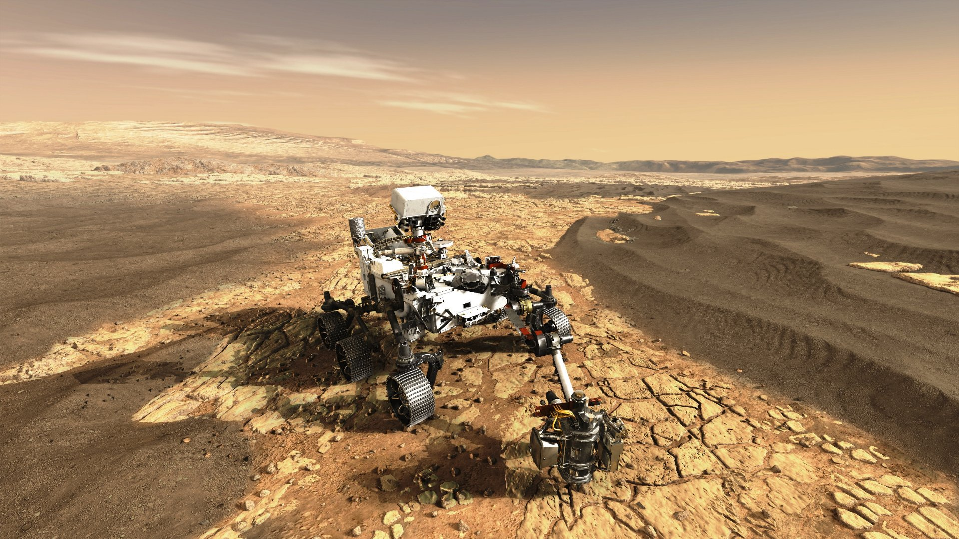 Key Airbus technology will be on board Perseverance Mars rover: the MEDA meteorological station will provide scientists with valuable Mars weather data and the High Gain Antenna System will ensure a high-speed comms link with Earth for the duration of the MARS2020 mission.