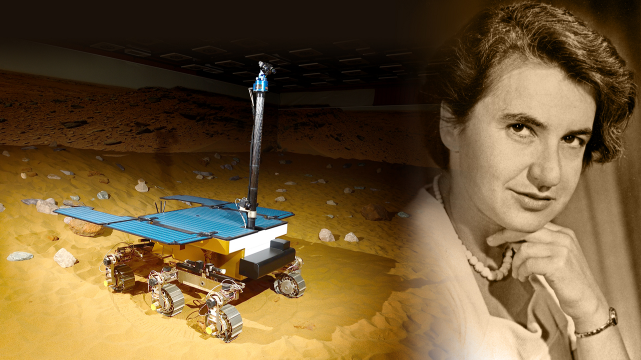 The rover has been named after UK scientist Rosalind Franklin