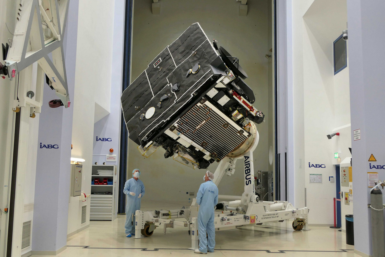 Solar Orbiter, designed and built by Airbus Defence and Space-led team, will scrutinise the Sun in unprecedented detail.