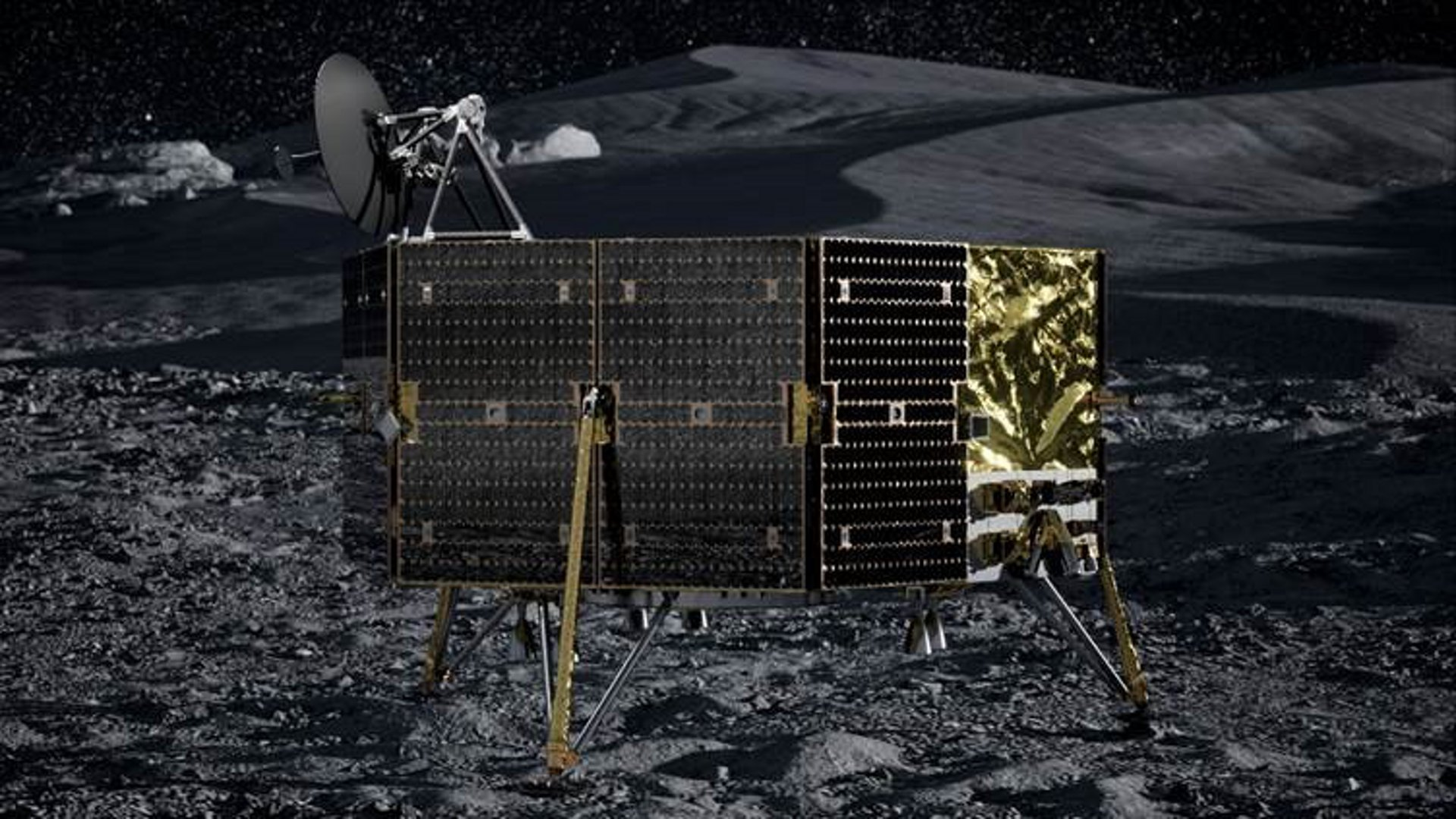 Sparkwing solar panels from Airbus to power lunar mission of Masten.