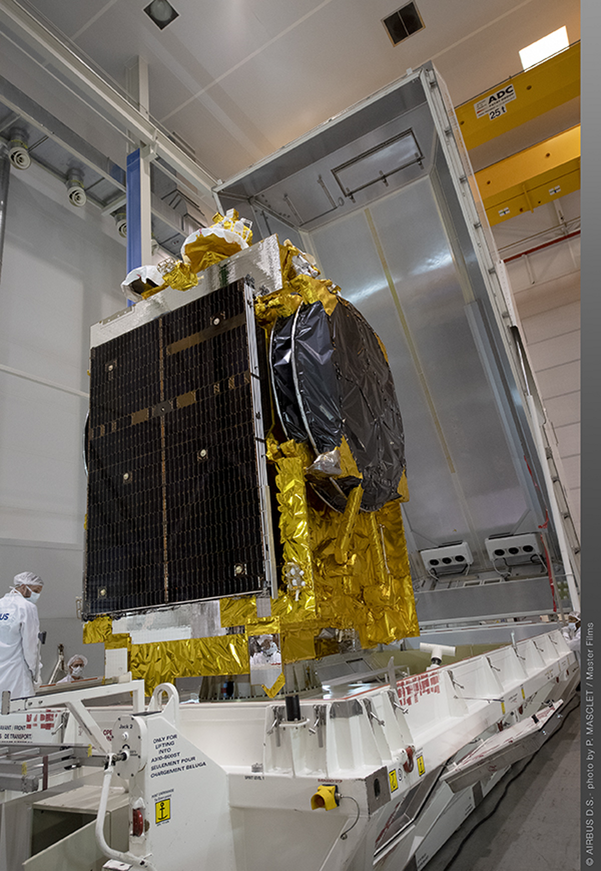 Airbus Defence and Space is co-prime contractor for the TIBA-1 communications spacecraft built for the Government of Egypt