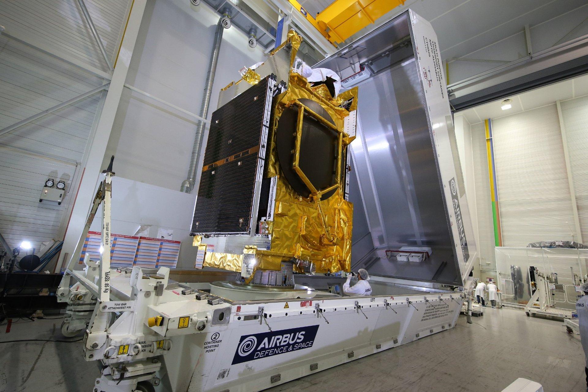 ANASIS II Shipment Copyright Airbus