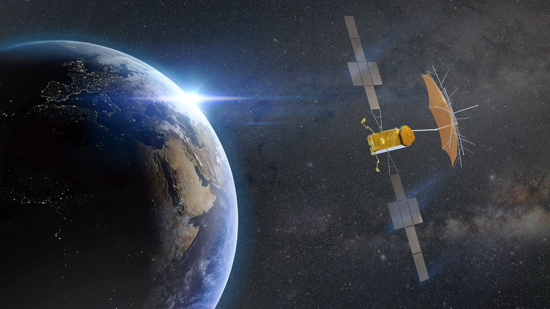 Based on the state-of-the-art all-electric Airbus Eurostar Neo Platform, Thuraya 4-NGS will incorporate a large 12-metre L-band antenna and a payload with on-board processing providing advanced routing flexibility of up to 3200 channels with dynamic power allocation over a large number of spot beams.  It is scheduled for operation in 2024.