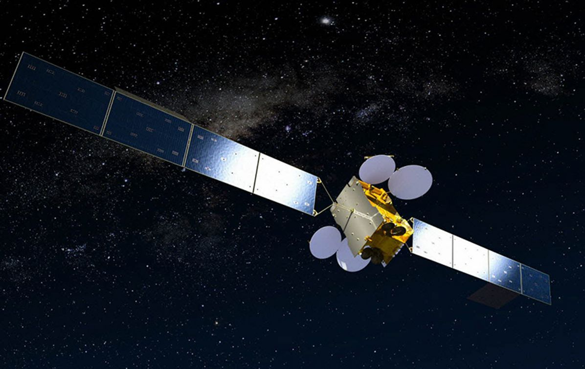 MEASAT-3b satellite, built by Airbus, to provide video and data services in Malaysia, India, Indonesia and Australia