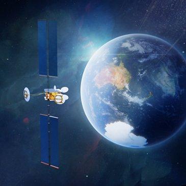 OneSat Optus Earth View