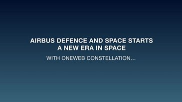 OneWeb satellites - Promo clip