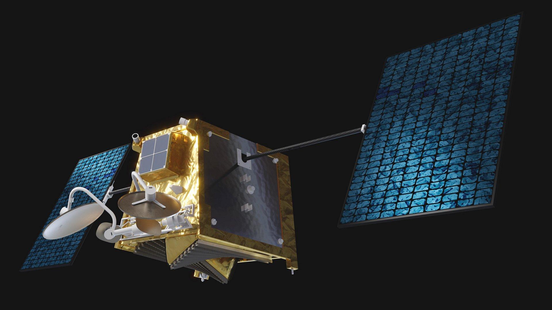 Airbus OneWeb satellite artist view