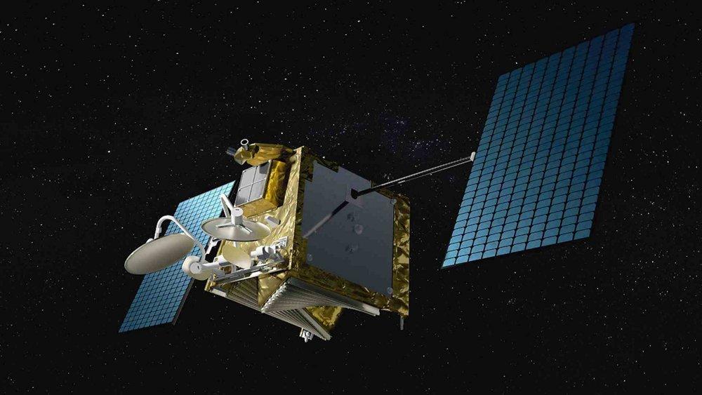 Airbus-built OneWeb satellite in space