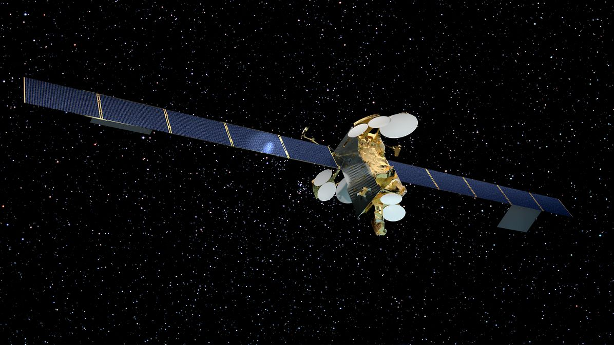 Airbus-built telecommunication satelllite SES-12 - Artist View