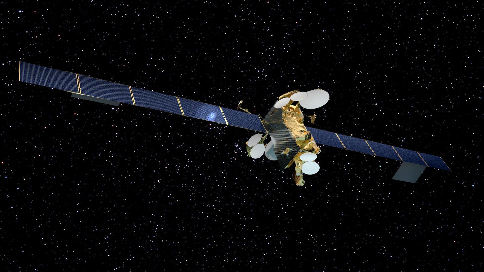 Airbus-built telecommunication satelllite SES-12 - Artist View