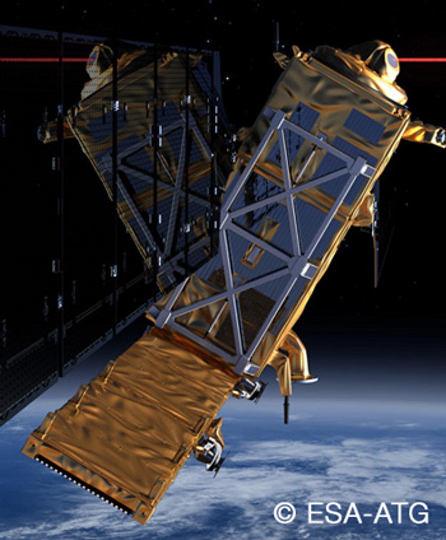 EDRS satellite