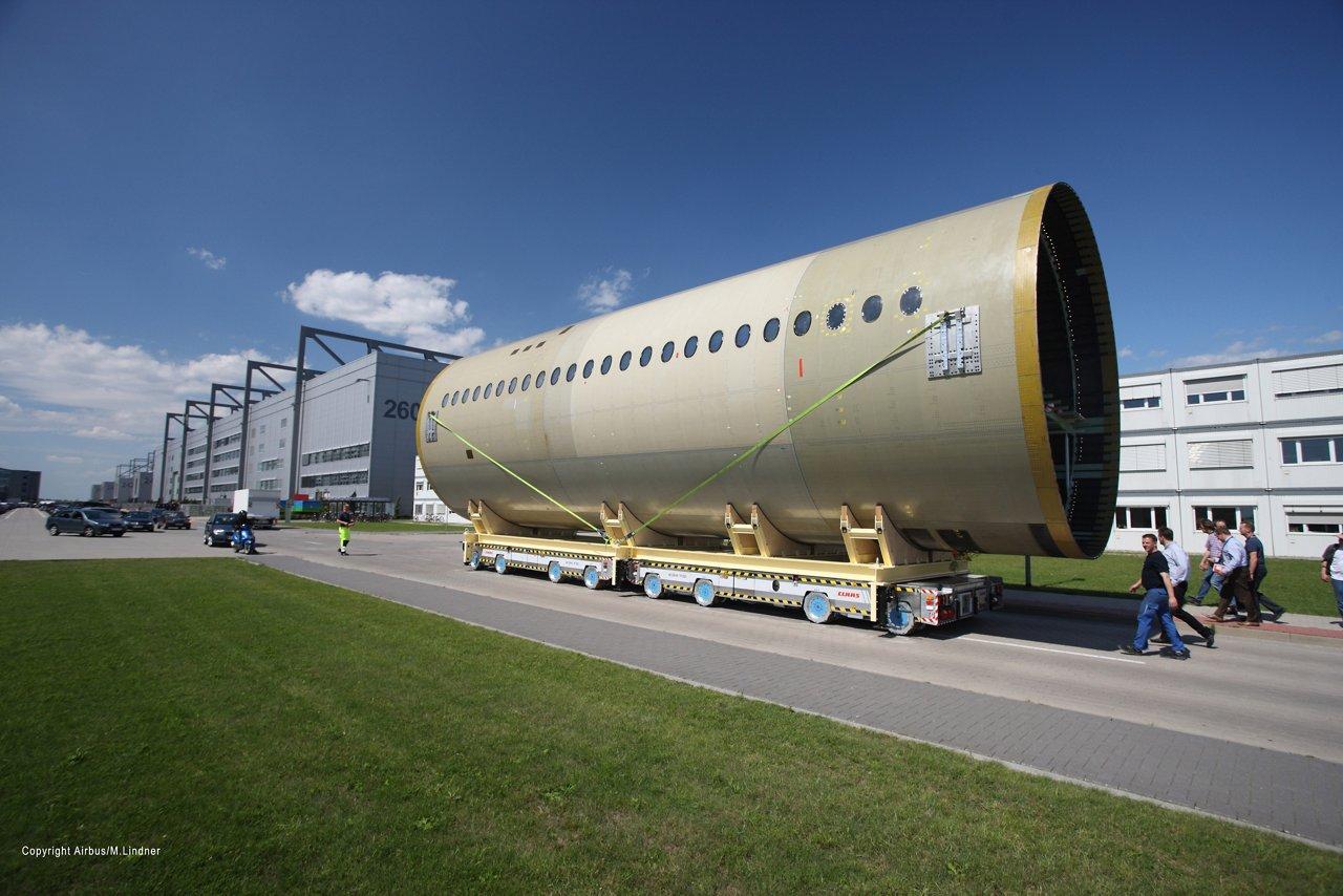 A350 XWB MSN1 barrel