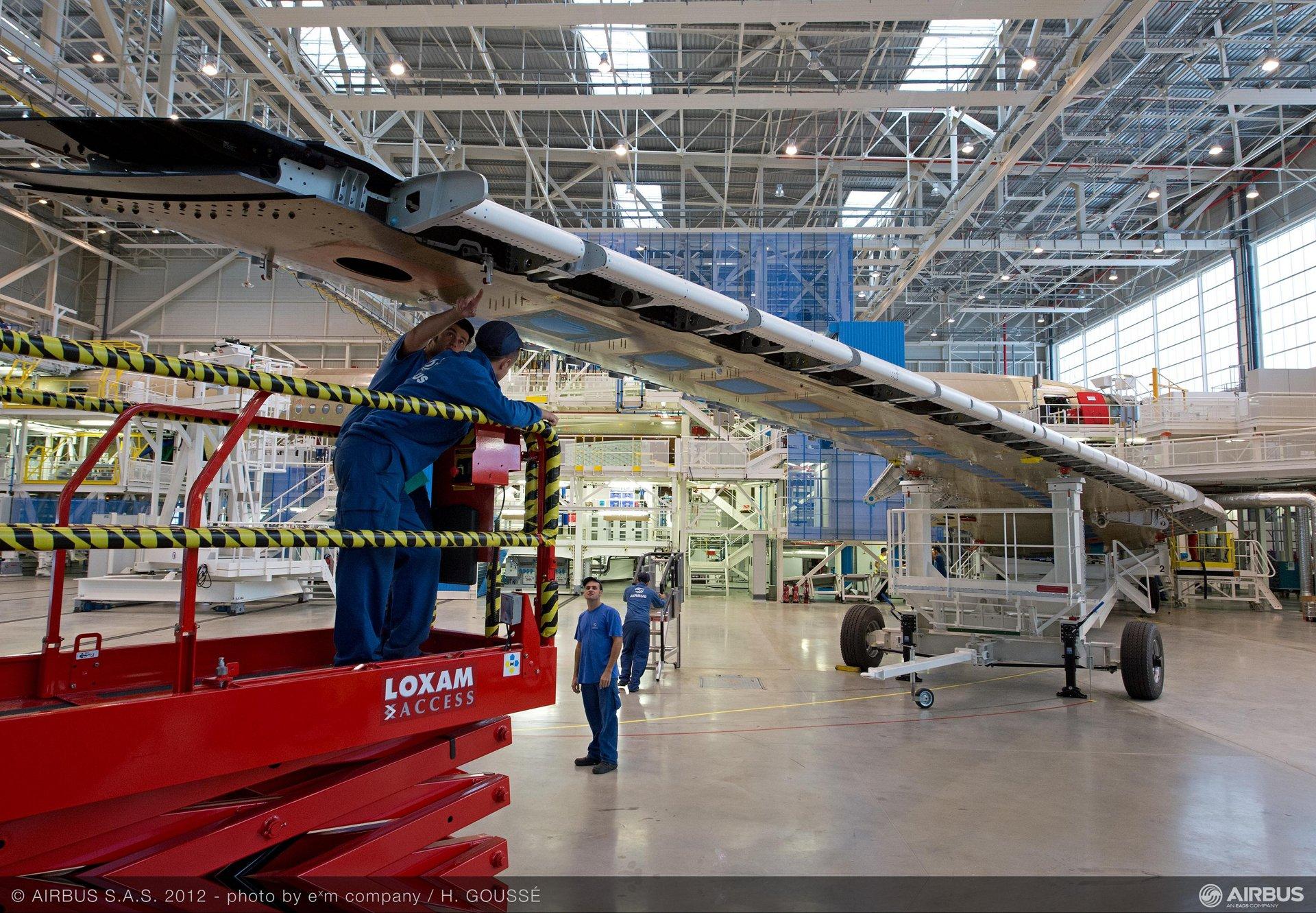 A350XWB wing 3
