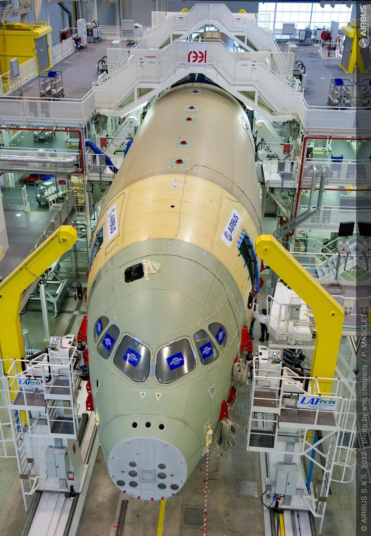 A350 XWB FAL Start 3