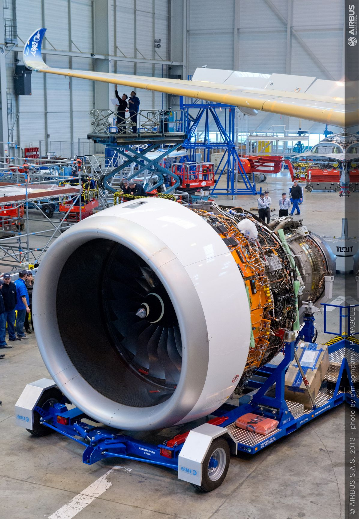 A350 XWB Trent engine installation