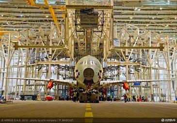 A350 XWB static test2