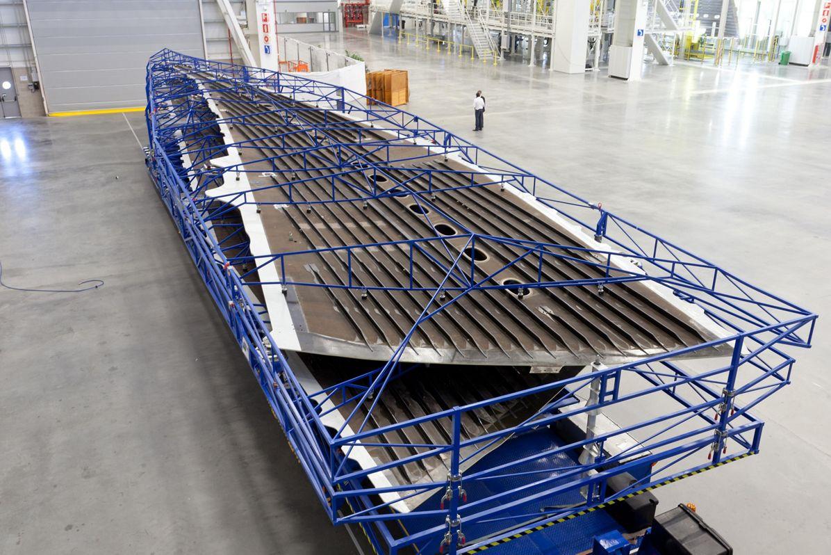 A350 wing Illescas 15-09-2011 -  12