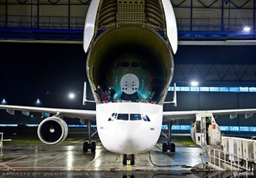 A350arrivesin TLS FAL1