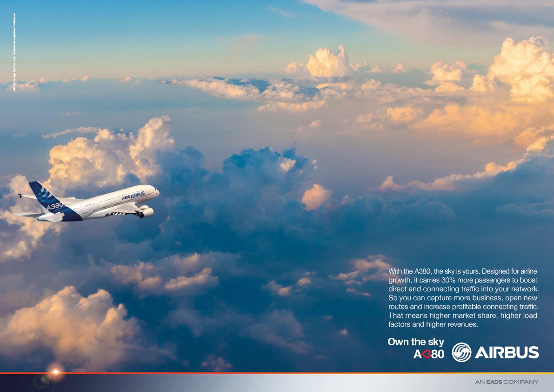 A380 Own The Sky Growth