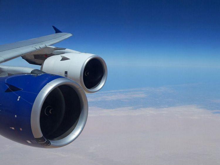 A350 XWB RR Trent XWB engine hot-testing