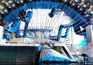 Airbus_Carbon fibre weaving 1