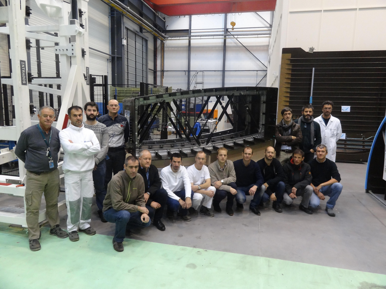 Airbus' single-piece composite centre wing box was designed by research and technology teams at the company's Toulouse and Nantes facilities in France