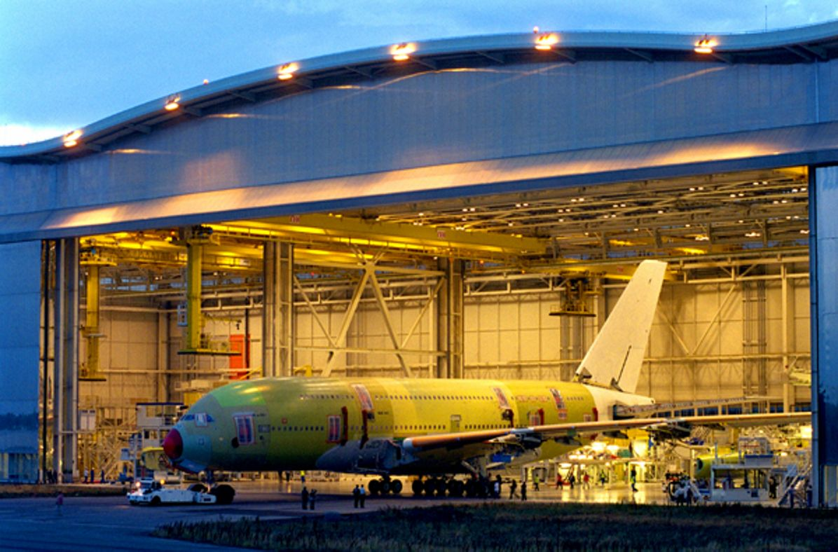 """The A350 XWB """"takes shape"""" online prior to its first flight"""
