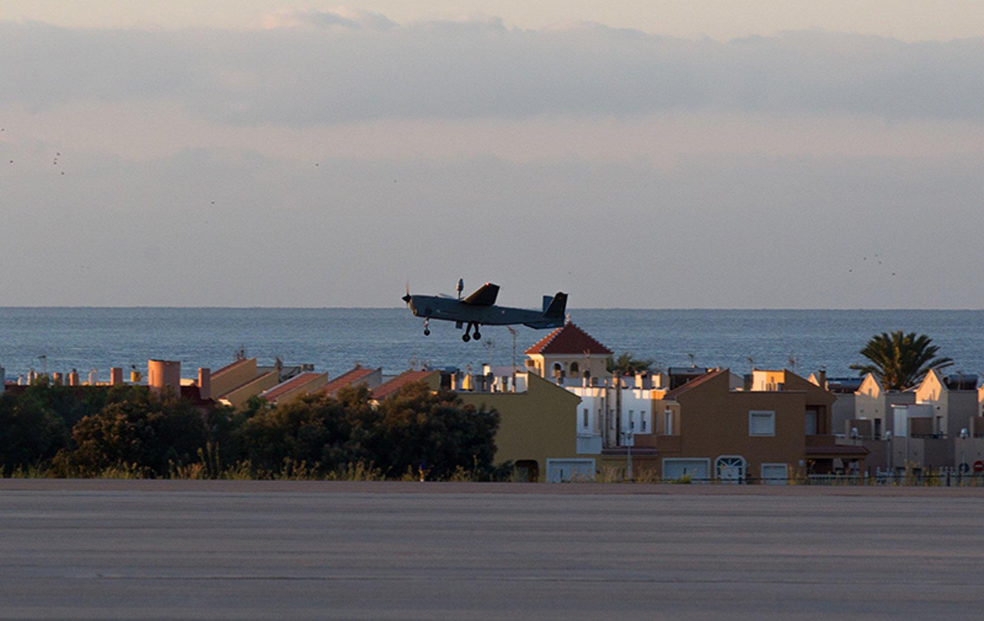 Atlante UAV flying