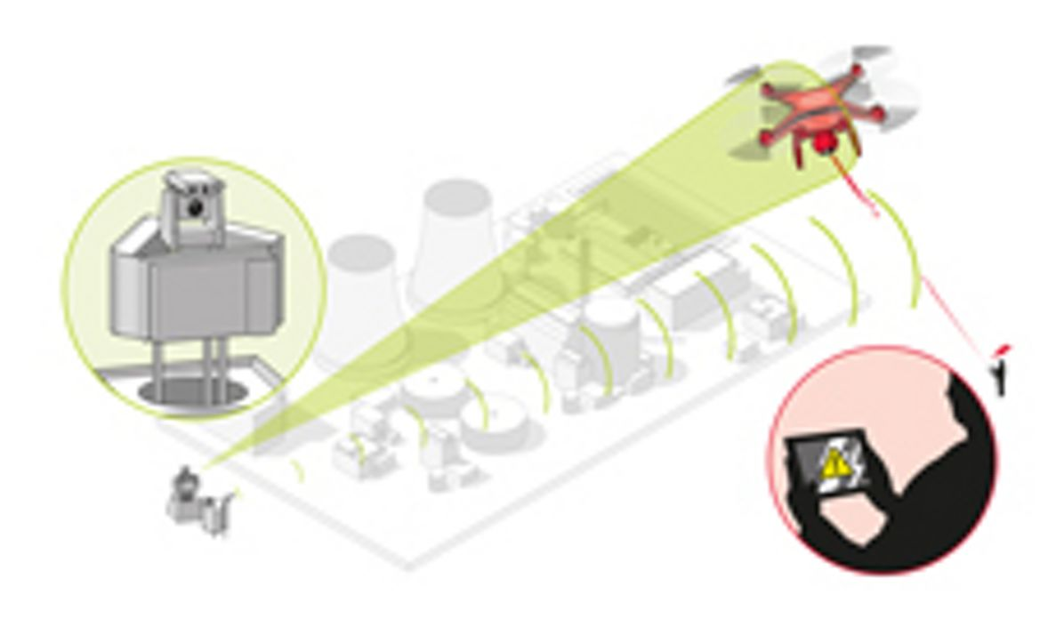 Counter UAV powerstation3A, Counter-UAV System from Airbus protects large installations and events from illicit intrusion