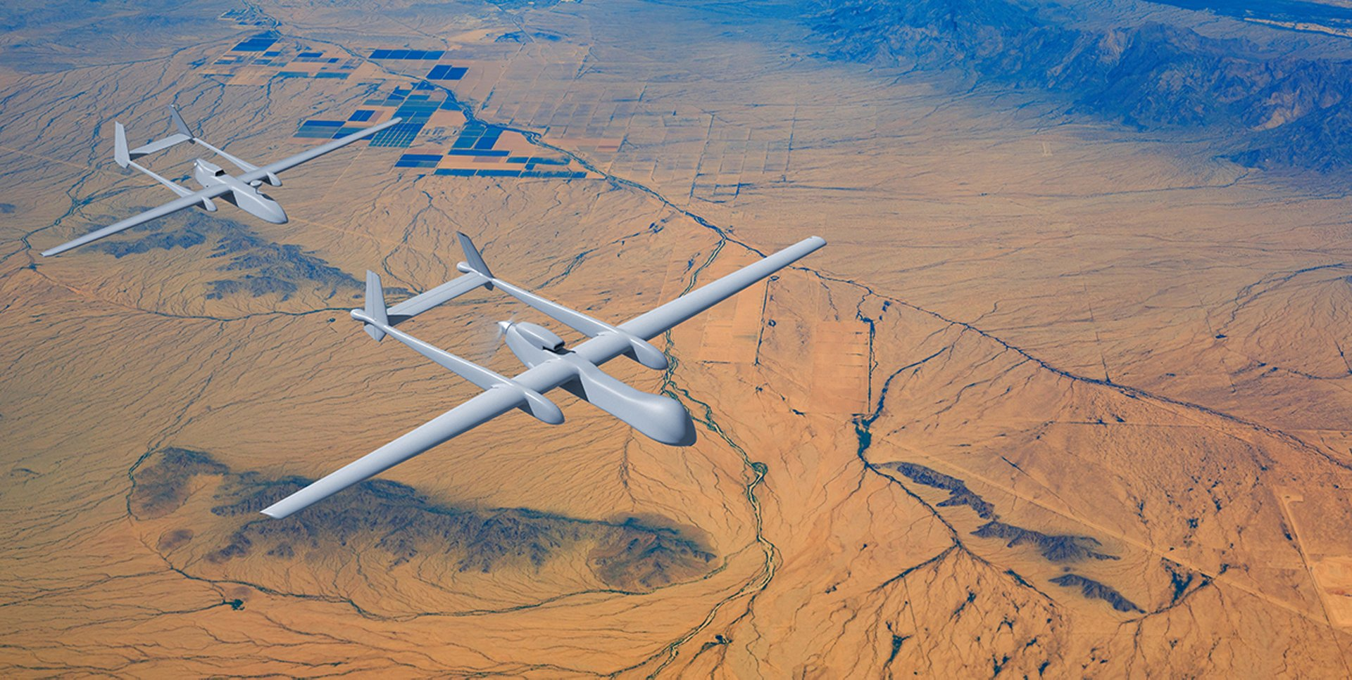 Heron TP unmanned aerial systems (UAS)