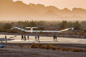 Zephyr 2021 Test Flight Campaign - Take off