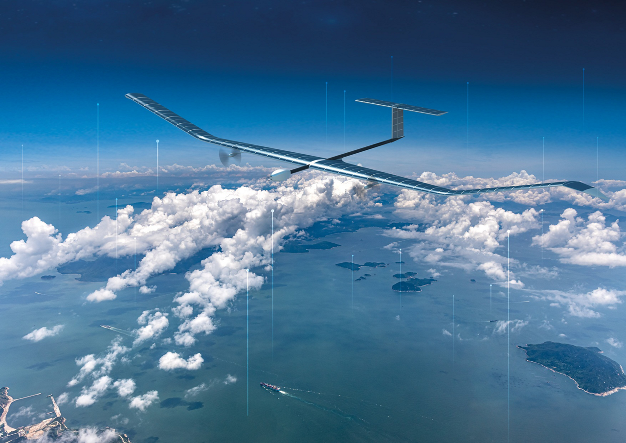 SEE with clarity, SENSE with efficiency. Earth observation with the world's leading solar electric stratospheric UAS
