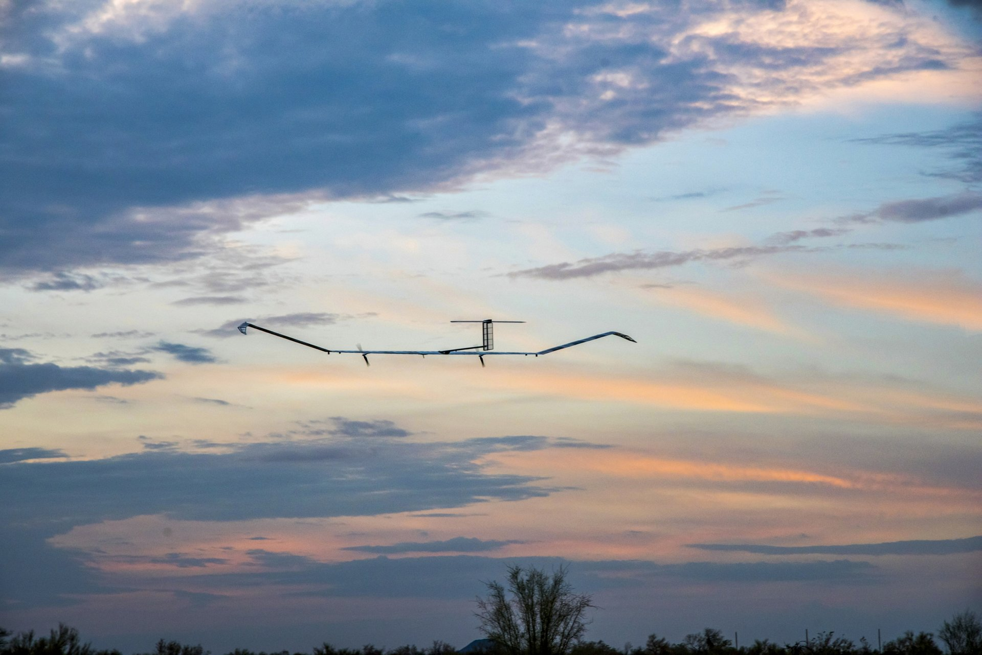 Zephyr is a High Altitude Pseudo-Satellite (HAPS) UAS/UAV which runs on solar power. This unmanned aircraft provides local satellite-like services. It endures like a satellite, focuses like an aircraft and is cheaper than either of them.