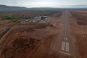First Zephyr Solar High Altitude Pseudo-Satellite operating site