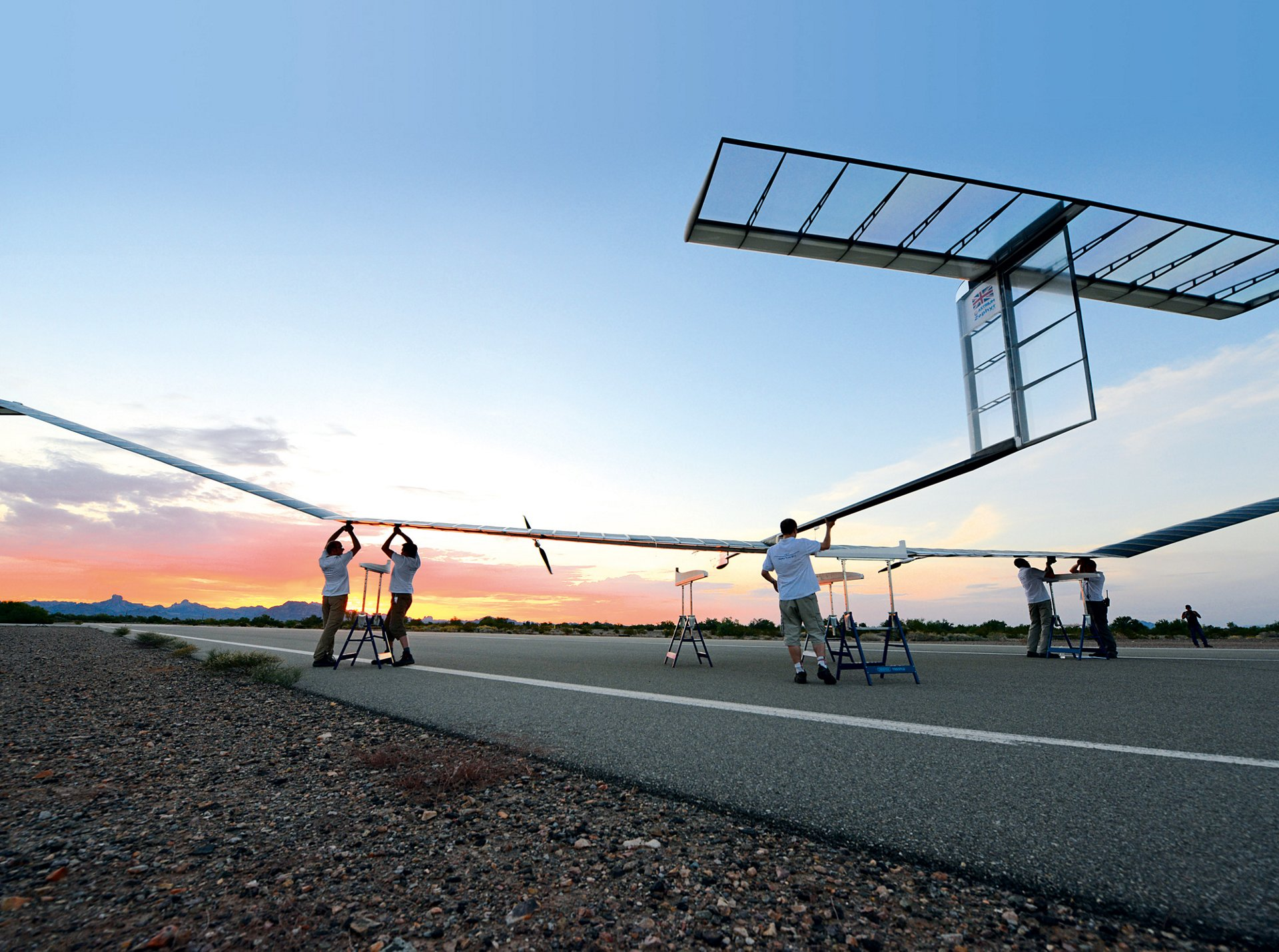 Airbus celebrates opening of the world's first Zephyr Solar High Altitude Pseudo-Satellite operating site