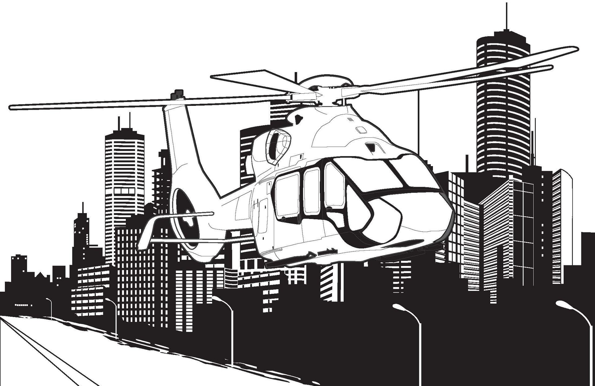 H160 image from AHI coloring book.