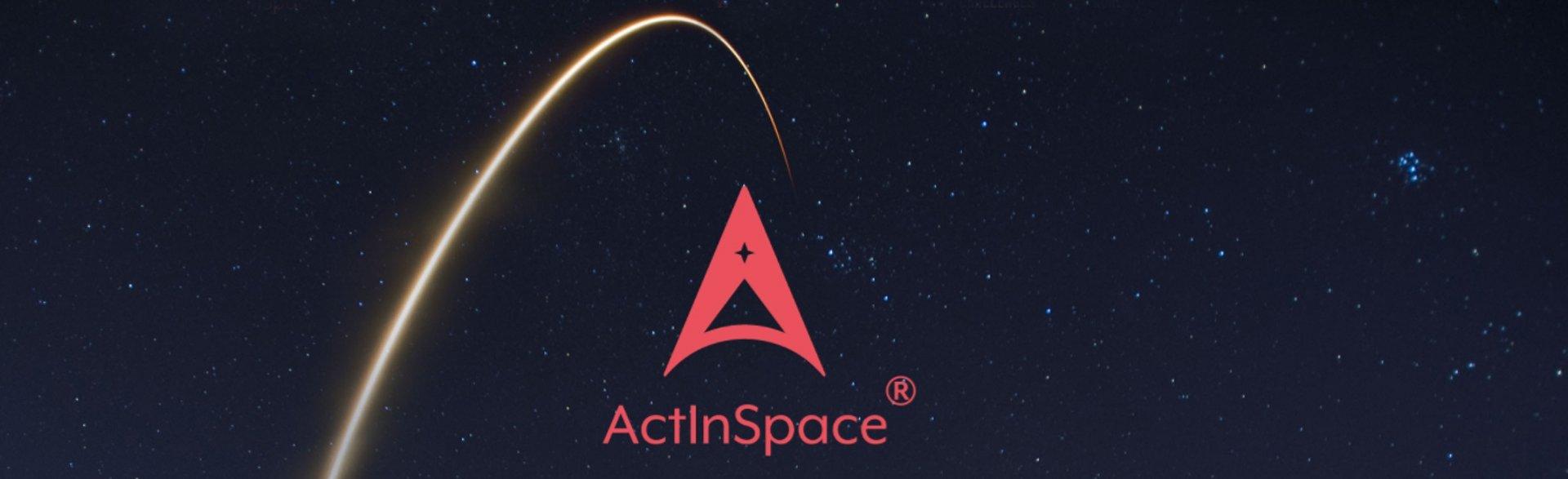 ActInSpace Logo Teaser