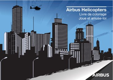 Airbus Helicopters coloring book and games