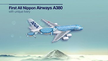 Infographic: First All Nippon Airways A380