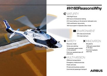 H160 fun facts and figures